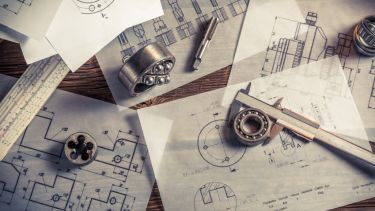 vintage mechanical sketches