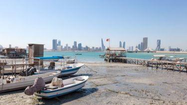 Fishing beach in Bahrain