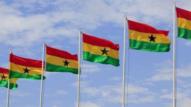 Ghana flags, THE Africa Universities Summit 2016
