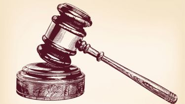 Illustration of a gavel