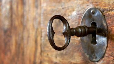 lock, key, open access