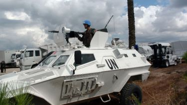 United Nations peace keeper