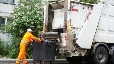 rubbish, scrap, bin