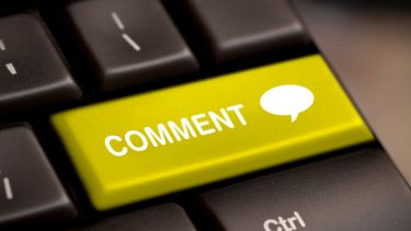 Comment button on keyboard