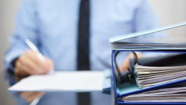 Folders of legal advice
