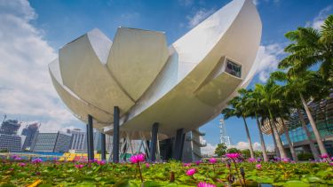 ArtScience Museum at Marina Bay Sands, Singapore