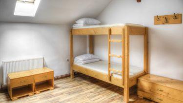 Bunk bed at university