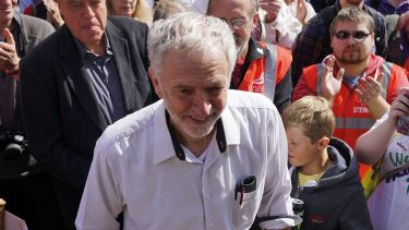 Jeremy Corbyn, Labour Party, Burston Strike School Rally, Norfolk, 2015