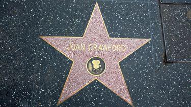 Joan Crawford Hollywood star