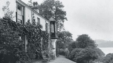 John Ruskin's home, Brantwood, Coniston Water, Cumbria England