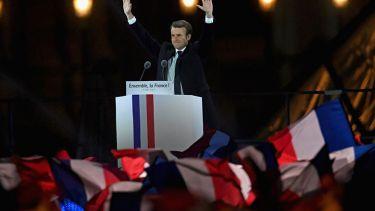 Emmanuel Macron, France, president