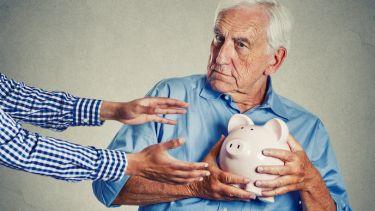 Man defending pension