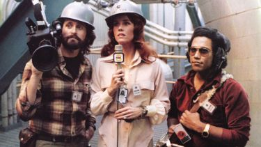 Michael Douglas and Jane Fonda in The China Syndrome, 1979