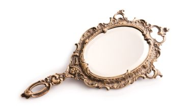 An old mirror