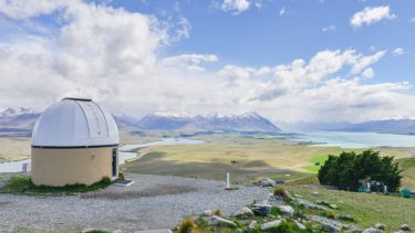University of Canterbury Mt John Observatory in Tekapo, New Zealand