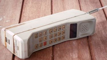 Old brick mobile phone