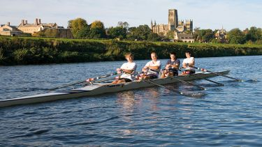 Oxford rowing quad