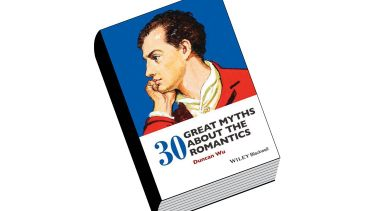 Review: 30 Great Myths about the Romantics, by Duncan Wu