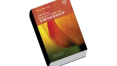 Review: Critical Reflections on Ownership, by Mary Warnock