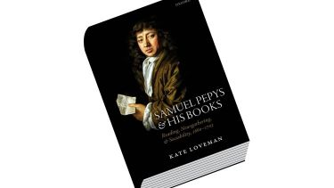 Review: Samuel Pepys and His Books, by Kate Loveman
