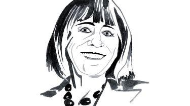 Sally Feldman columnist illustration
