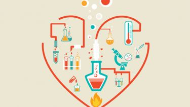 Love in the lab, science, heart, Sir Tim Hunt