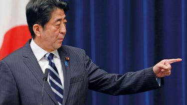 Shinzō Abe, Prime Minister, Japan