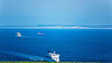 Ships in the English Channel