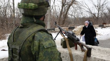 Solider in Ukraine