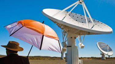 A telescope in Africa