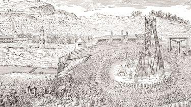 The execution of Joseph Oppenheimer