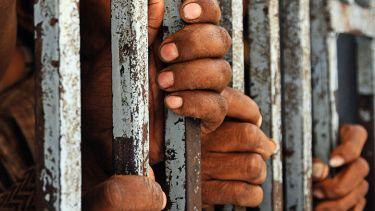 Indian prison bars