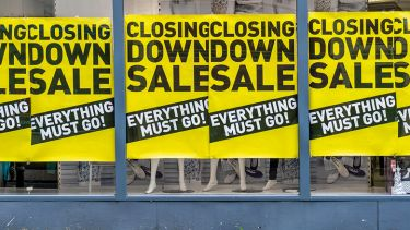 shops closing down sale