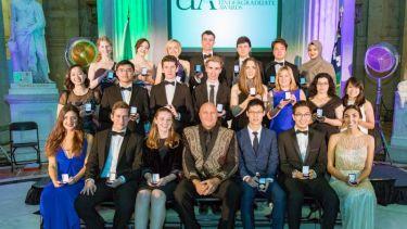 The undergraduate awards in Dublin