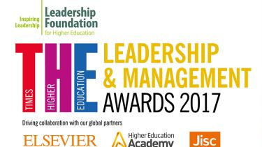 Times Higher Education Leadership & Management Awards (Thelmas) 2017