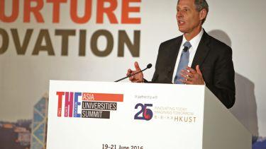 Thomas Rosenbaum, president of Caltech