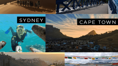 Scenic locations to study abroad