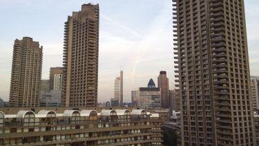 Tower blocks, Barbican Estate, London