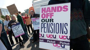 UCU pensions sign