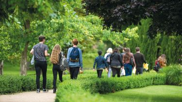 University of Chichester students