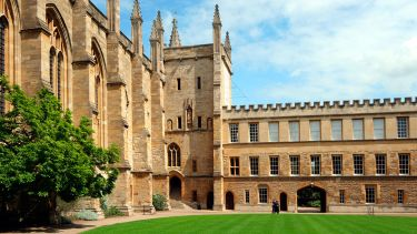 University of Oxford courtyard