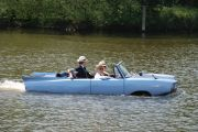 Amphicar on the river