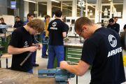apprenticeship Airbus trainee workers