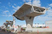 Australian road under reconstruction