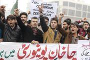 Pakistani students condemn Bacha Khan University attack