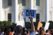 Black Lives Matter protestors, White House, Washington D.C.
