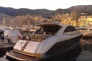 Boats docked in Port Hercule, Monaco