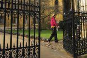 Entrance gateway at University of Cambridge