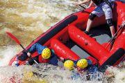 Capsizing raft