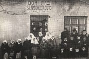 The Jewish old age home in Chelm, 1918